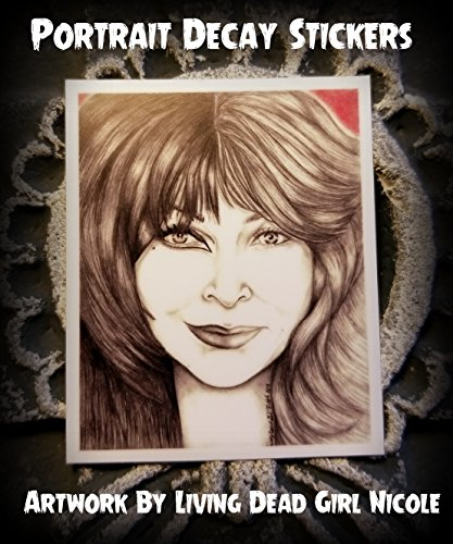 Portrait Art Sticker: