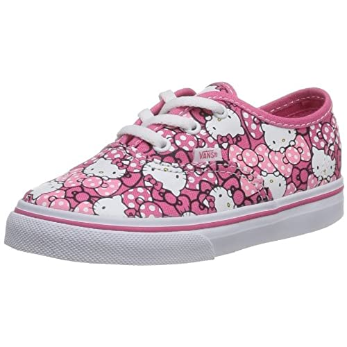 Vans Infants Authentic (Hello Kitty) MrngGlryHp Skate Shoes