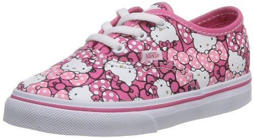 Vans Infants Authentic (Hello Kitty) MrngGlry/Hp Skate Shoes 6.5 Infants (Childrens Hello Kitty Vans)