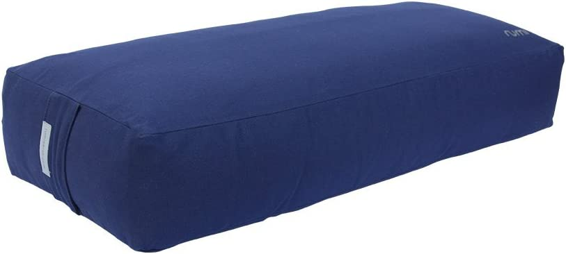 Amazon.com : Rumi Yoga Cotton Bolster - Rectangular ...