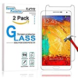 samsung 3 protective screen - Galaxy Note 3 Screen Protector - KATIN [2-Pack] Samsung Galaxy Note 3 Premium 9H Tempered Glass [ 2.5D Round Edge 3D Touch Compatible ] with Lifetime Replacement Warranty