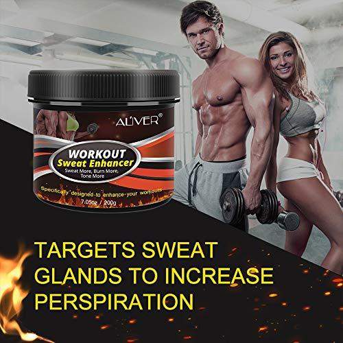 Sweat Cream Weight Loss Fat Burner for Women,Fitness Cream,Sweat Cream for Weight Loss, Fat Loss, Muscle Gain, Etc. 2