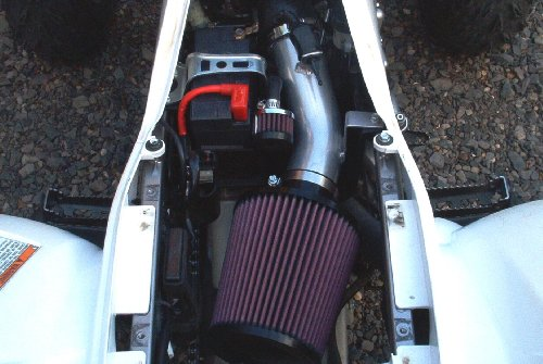 Malone Motorsports VelI-700r-1L Raptor 700 Velocity Intake System with Large K&N Filter by Velocity Intake Systems (Image #2)