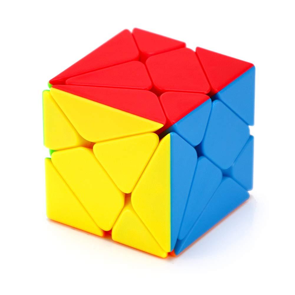 JIAAE Cambia King Kong Rubik's Cube 3X3 Bambini Puzzle Alta Difficoltà Rubik Solid Color No Sticker [Classe di efficienza energetica A]