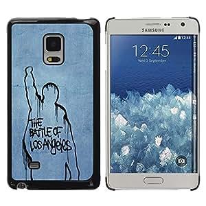 LECELL -- Funda protectora / Cubierta / Piel For Samsung Galaxy Mega 5.8 9150 9152 -- Battle Of Los Angeles --