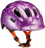 ABUS Girl Smiley 2.0Bicycle Helmet, Girls, Smiley 2.0, purple star