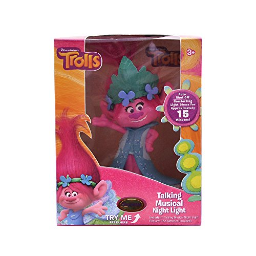 DreamWorks Trolls Poppy Talking Musical Night Light