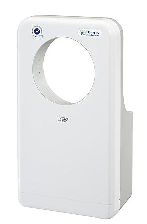 secador de manos ecodryer de aire comprimido profesional horizontal 360 blanco: Amazon.es: Hogar