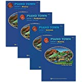 Piano Town Level 1 Learners Pack - Lesson, Theory, Performance and Technic Books