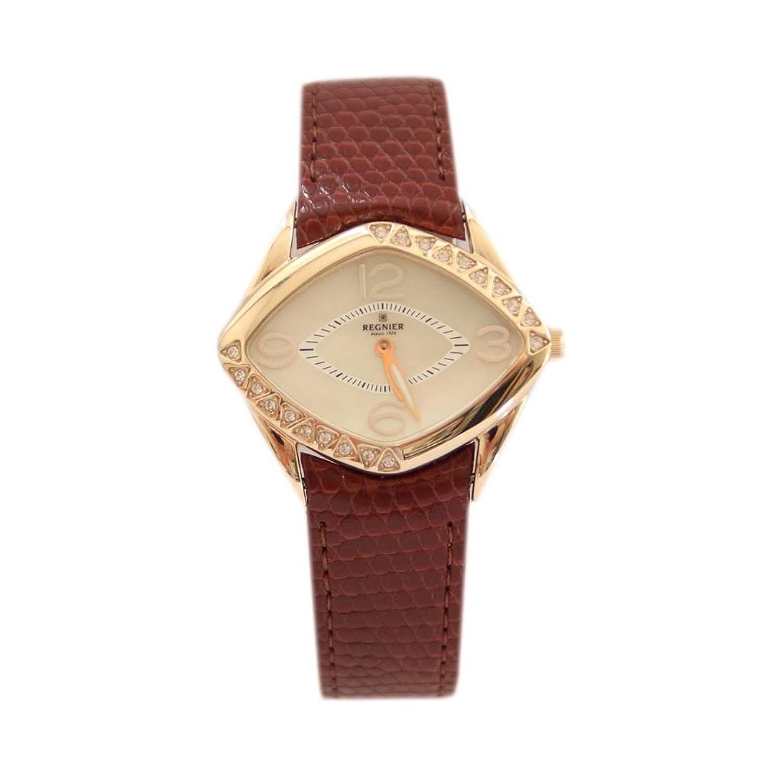 Waooh - Uhr Mit Diamantzifferblatt Fanu - BRAUN