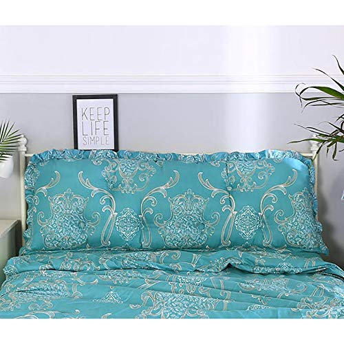 Dsm Garden Cushion Bed Head Backrest Pillow Long Pillow to Watch TV Reading (Color : G, Size : 90x50cm)