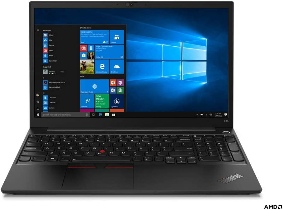 "Newest ThinkPad E15 Gen 2(AMD), 15.6"" FHD IPS Screen, AMD Ryzen 7 4700U, Wi-Fi 6, Bluetooth, Webcam, USB-C, HDMI, AMD Radeon Graphics, Windows 10 Pro (16GB RAM | 1TB PCIe SSD)"