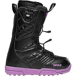thirtytwo Women's Groomer FT 13 Inch Snowboard Boot,Black/Purple,5 D US