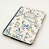 Kandouren Amazon Kindle Paperwhite Case - Blue Bird Art Skin,Lighted Slim Leather Cover with Autowake(Fit 6 inch 6th generation new Kindle Paperwhite 2013 2014 2015),like white book