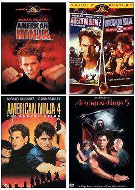 Amazon.com: American Ninja Collection (1 / 2 / 3 / 4 / 5 ...