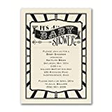 1125pk Baby Shower - Baby Shower Invitation - Ecru-Baby Shower Invitations