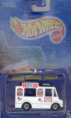 Hot Wheels Blue Card - Hot Wheels 1991 5 WHITE GOOD HUMOR TRUCK ALL BLUE CARD 1:64 Scale Die-cast Collectible Car