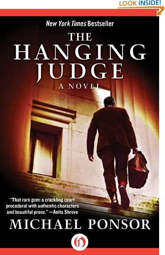 The Hanging Judge: A Novel (The Judge Norcross Novels Book 1) by Michael Ponsor