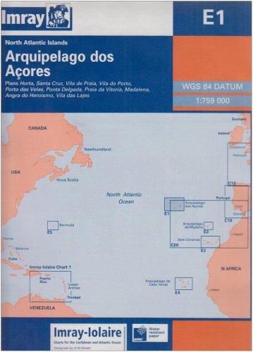 Arquipelago DOS Acores (Imray Iolaire Chart)...