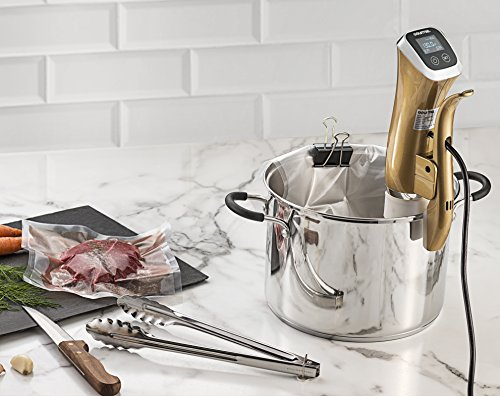 New & Improved Gourmia GSV140 Immersion Sous Vide