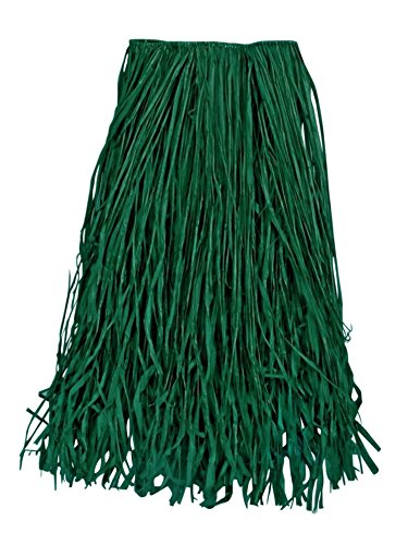 Tropical Sun Imports Llc TS831031-STD Green Raffia Grass Skirt Adult Size Standard (Adult Supercenter)