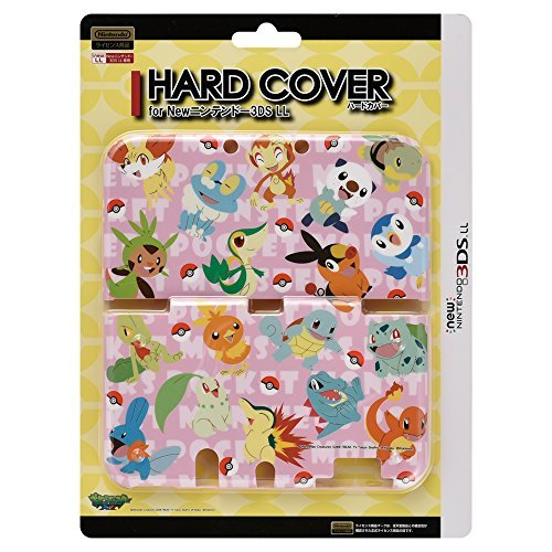 Pokemon Hard Cover Skin for New Nintendo 3DS XL (2015 Edition): Friends of the departure