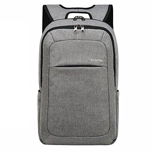 SLOTRA Slim Laptop Backpack, Business Lightweight Nylon Water Resistant...