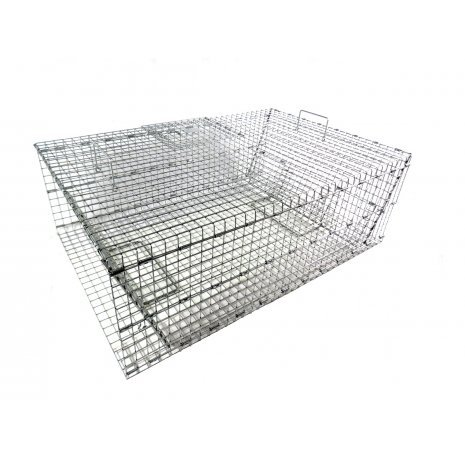 (Model 504.5 - Extra Large, Collapsible Pigeon Trap with Four Swing Panel Doors)