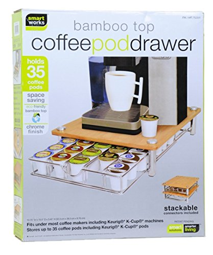 Bamboo Coffee Drawer Keurig Compatible product image