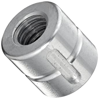 THK Lead Screw Nut Model DC14, 22mm Outer Diameter x 22mm Length, Load Capacity: 816 Pound-Force  (Pack of 5)