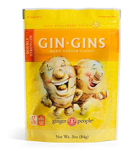 (The Ginger People Gin Gins Hard Candy - 3 oz (Pack of 2))