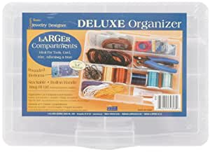 Darice 10767 Deluxe Bead Organizer 8 Compartment