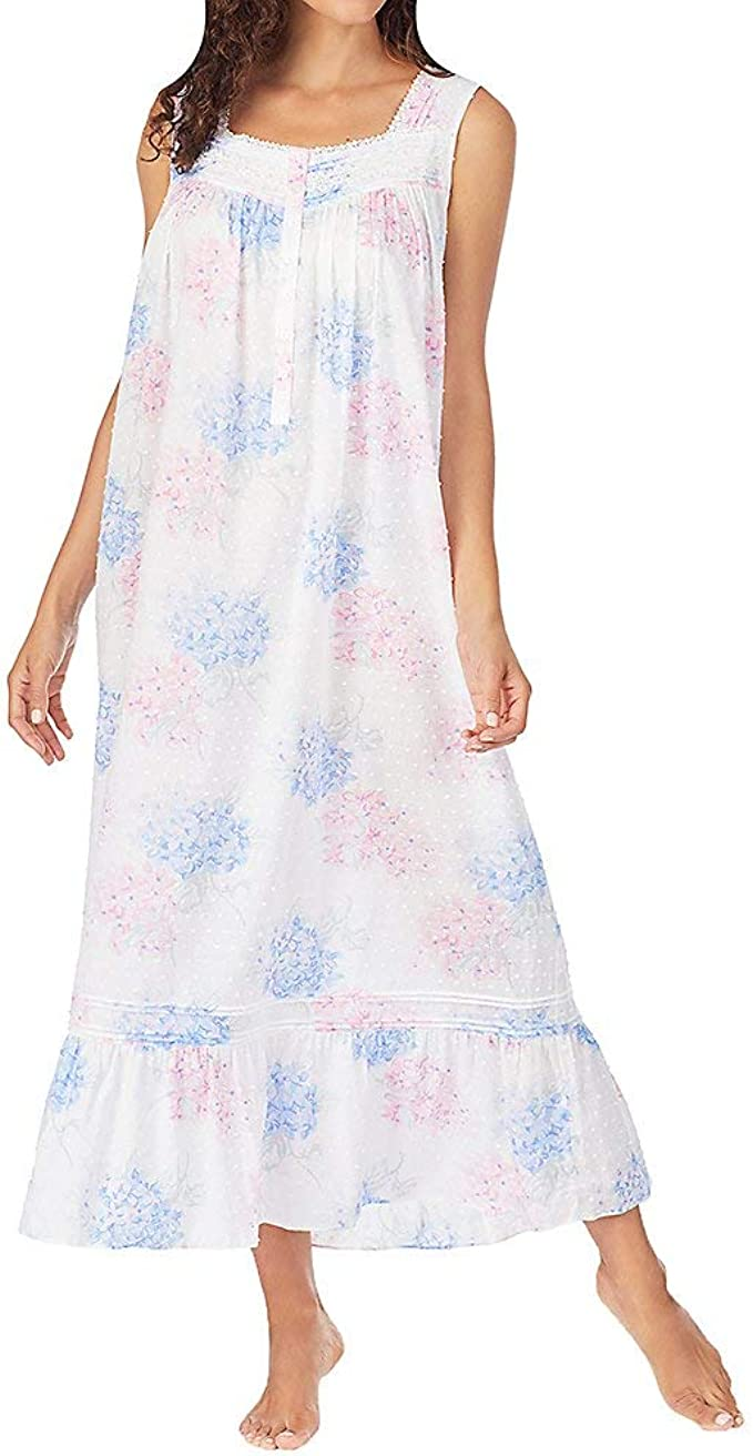 Eileen West Cotton Lawn Woven Sleeveless Ballet Gown