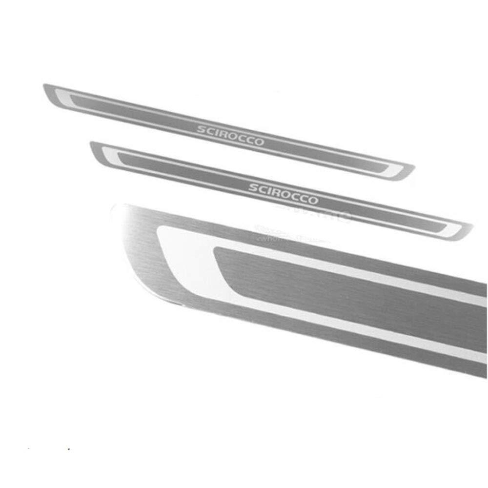 Barres de seuil en acier inoxydable pour seuil de porte Scirocco