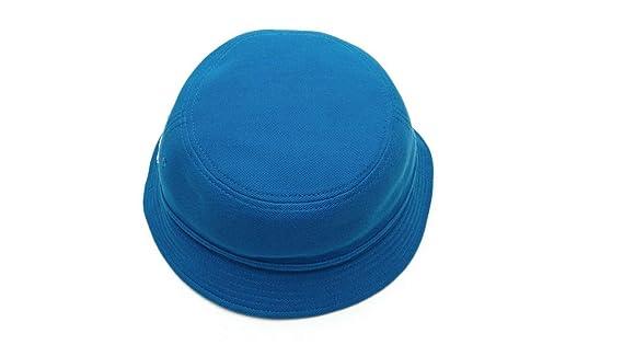 a64a00d9d36 Lacoste Rk8490 Men s Pique Bucket Hat Cap in Delta Blue at Amazon Men s  Clothing store