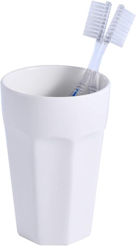 Bathroom storage Pen holder Ceramic cup Ceramic makeup brush holder Pottery toothbrush holder Bathroom accessory Pencil holder