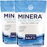 Minera Fine Grain Pure Dead Sea Salt, 10 lb (2 Pack - Each...