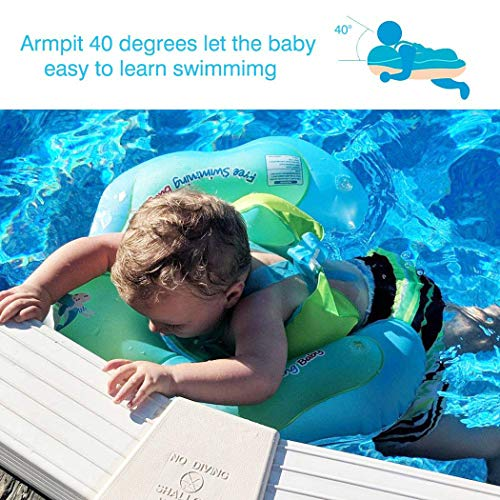 IEKOFO Inflatable Baby Swimming Float Ring Children Waist Float Ring Underarm Inflatable Floats Pool Toys Swimming Pool Accessories for The Age of 3-36 Months by IEKOFO (Image #5)