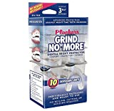 Plackers Mouth Guard Grind No More Night Time Use - (40 count) - 4 packs of 10
