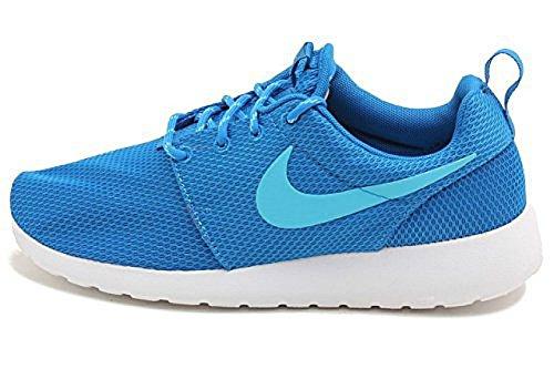 Nike Rosherun Roshe One Women DK Electric Blue/White/Clearwater 511882-443 (11.5)
