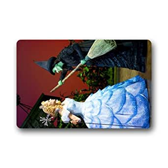 Wicked The musical Broadway Nueva York personalizado Felpudo (23,6 x 39,88 cm) interior al aire libre