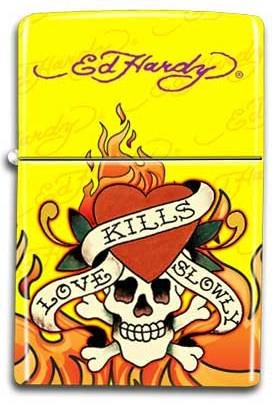 Ed Hardy Refillable Lighter Cigarette product image