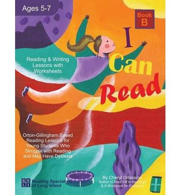 I Can Read - Book B, Orton-Gillingham Based Reading Lessons for ...