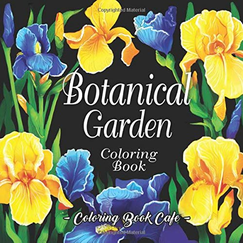 Botanical Garden Coloring Book Relaxation product image