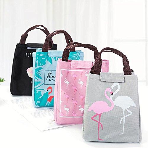 Frais L'école À Travail Sac Le rose Et Isolé Portable Réfrigéré Flamingo Bellecita Pour Lunch D'isolation pOZA5nXXx