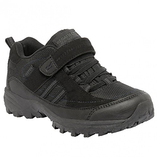 Regatta Trailspace 2, Zapatos de Low Rise Senderismo para Niños Dark Steel / Lollipop