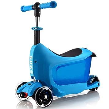 Amazon.com: ZAIHW Kick Scooters para niños y niñas, patinete ...