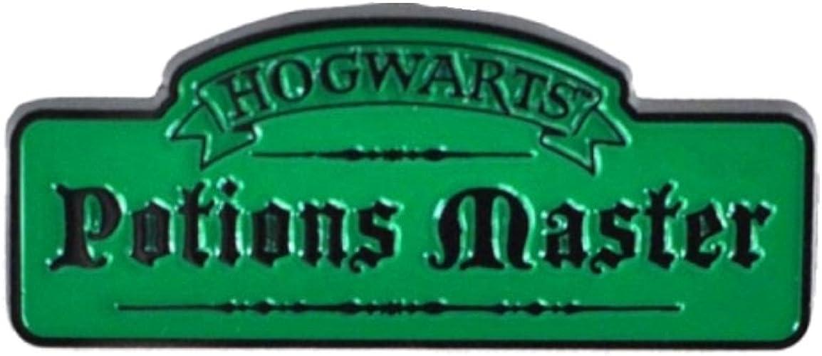 Golden Harry Potter Severus Snape Metal Keyring Key Chain 4.5cm