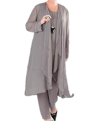 Formaldresses Plus Size Mother Of The Bride Dress Pant Suits 3