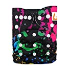 LBB(TM) Baby Resuable Washable Cloth Pocket Diaper,Dark Stary Sky